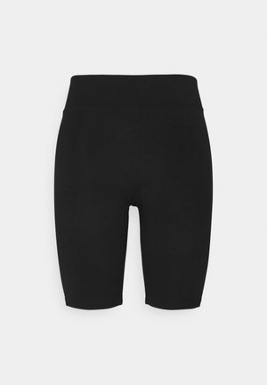 OBJSAVA BIKER SHORTS PETIT - Shorts - black
