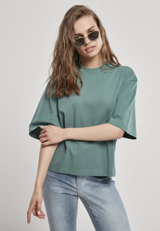 T-shirt basic - paleleaf