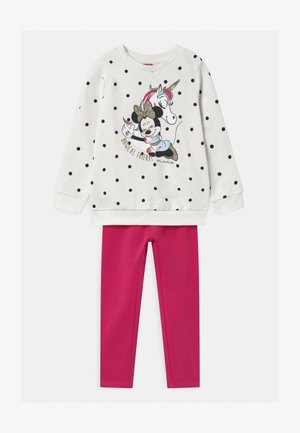 MINNIE SET  - Trainingspak - white/pink