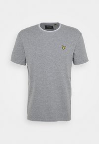 WAFFLE - T-shirt - bas - mid grey marl