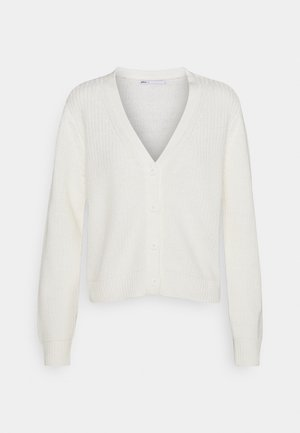 ONLSOOKIE MELTON LIFE - Cardigan - cloud dancer