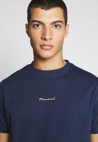 Nominal - REAL TEE - T-shirt - bas - navy - 3