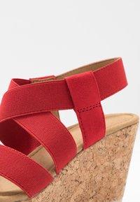 Gabor - High heeled sandals - flame - 2