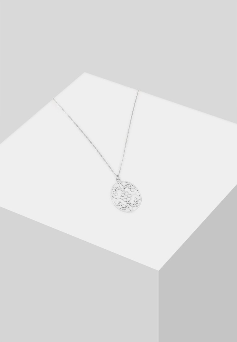 Elli - ORNAMENT FLORAL - Necklace - silber