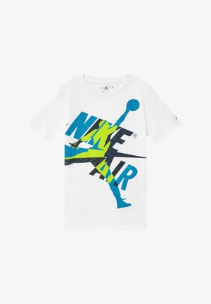 JUMPMAN  CLASSIC GRAPHIC - Print T-shirt - white/obsidian