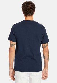 Timberland - Print T-shirt - dark sapphire - 1