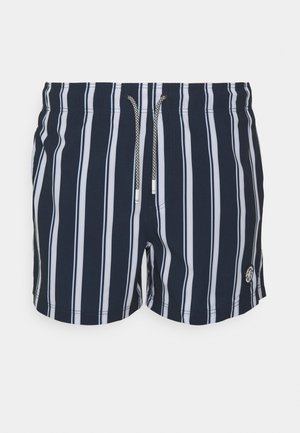 JJIMAUI JJSWIMSHORTS STRIPE - Swimming shorts - navy blazer