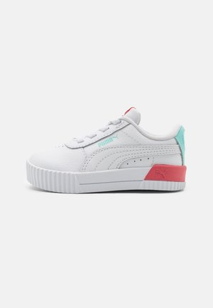 CARINA - Trainers - white/sun kissed coral
