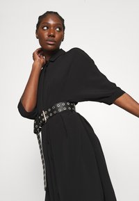 Zign - Skjortklänning - black - 3