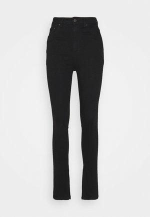 SUPERSTRETCH SLIT - Jean slim - black