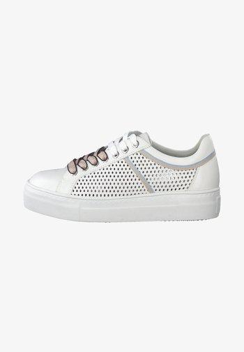 Trainers - white rose com