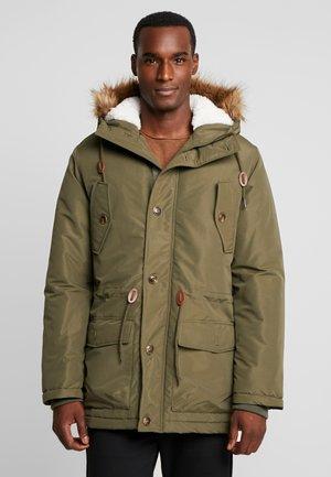 Zimní kabát - oliv