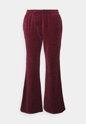 ROXANNA TROUSERS - Pantalones - bordeaux
