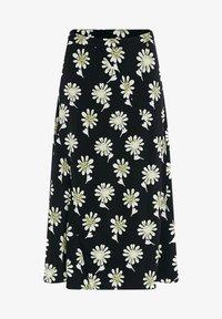 Fabienne Chapot - CLAIRE - A-line skirt - black  pistache - 4