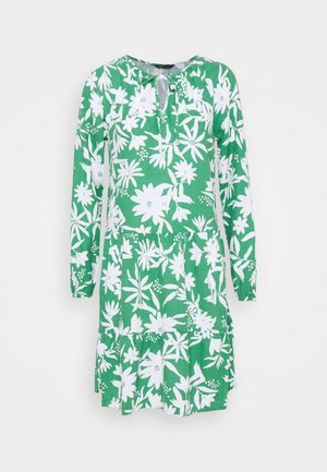TIE NECK SWING - Day dress - green