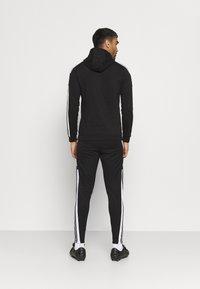 adidas Performance - SQUAD HOOD - Sweatshirt - black - 2