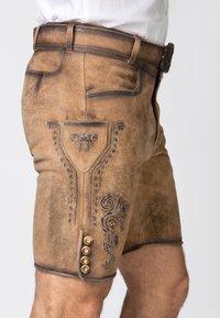 Stockerpoint - ALOIS - Shorts - brown - 3