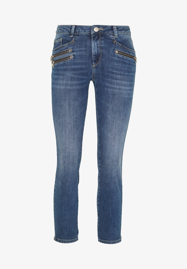 BERLIN RE-LOVED - Slim fit jeans - light blue