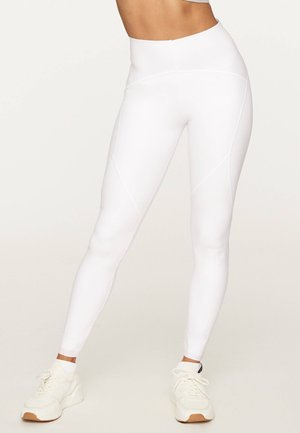 COMPRESSION - Leggings - white