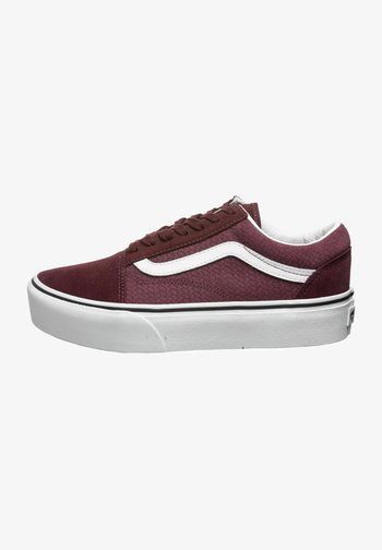OLD SKOOL  - Trainers - red