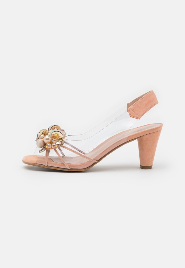 TAURO - Sandals - nude