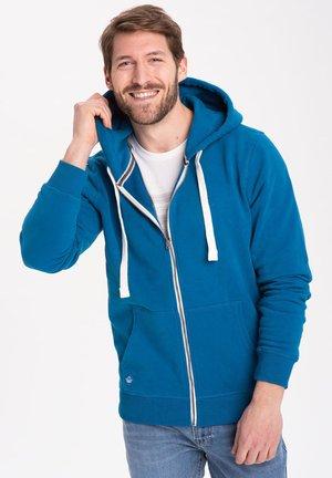 Sweater met rits - blue