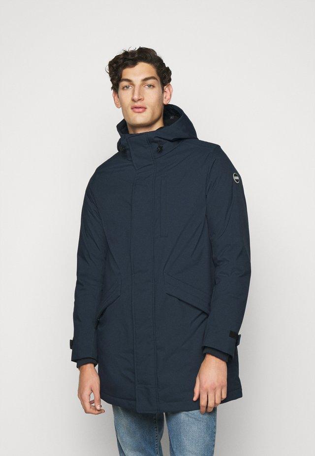 MENS JACKET - Abrigo de plumas - blue black