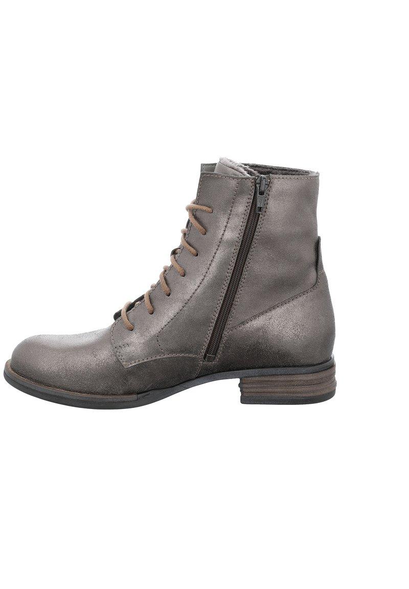 Josef Seibel - SANJA  - Lace-up ankle boots - anthrazit