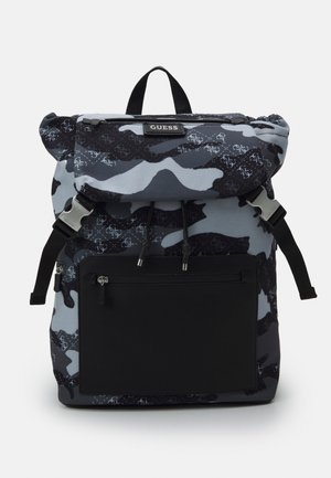 SALAMEDA SMART CAMOUFLAGE BACKPACK - Rucksack - black