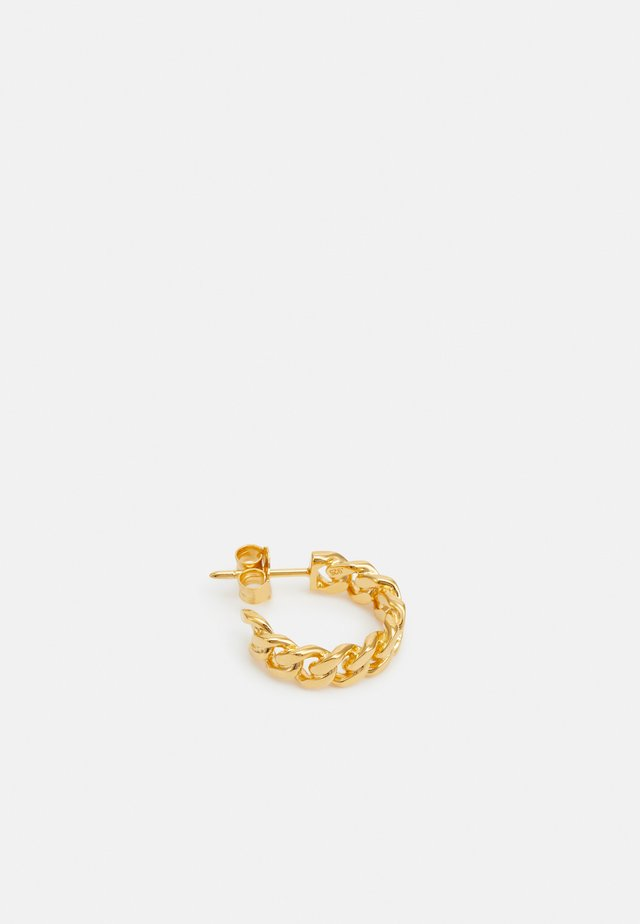 HOOP CHAIN MEDIUM - Oorbellen - gold-coloured
