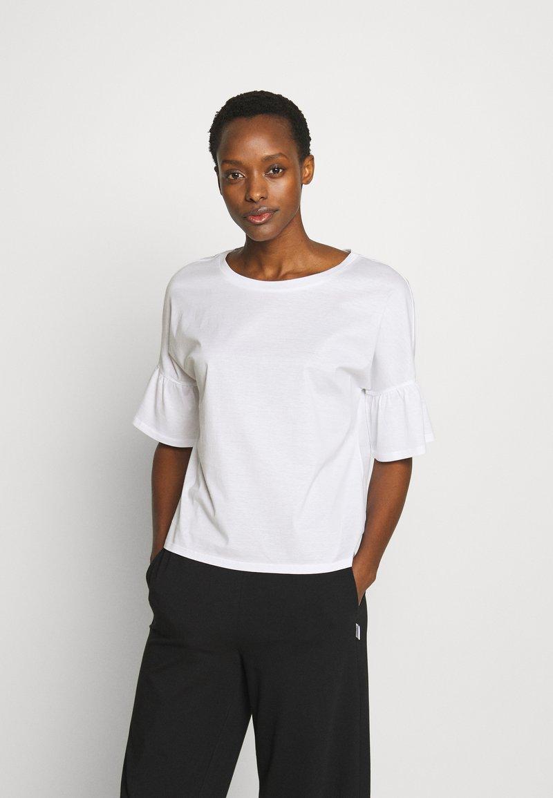 WEEKEND MaxMara - ORLANDA - Camiseta estampada - weiss