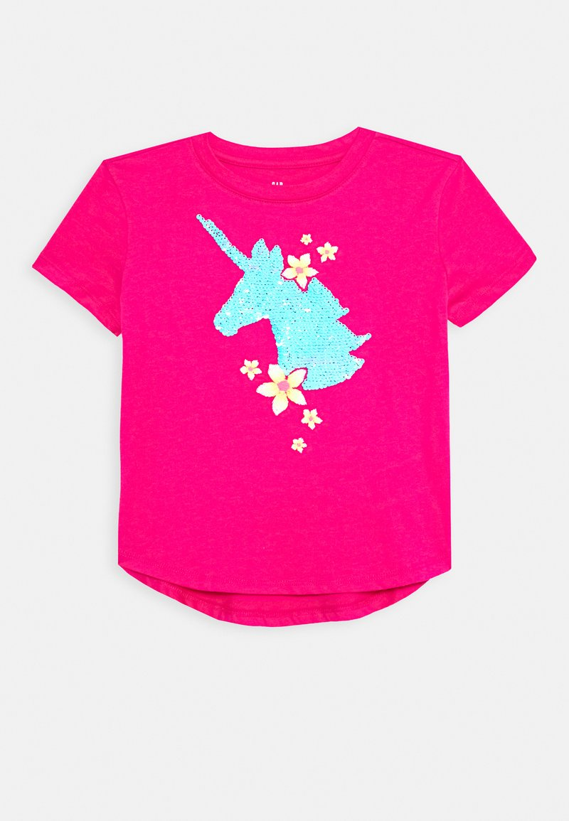 GAP - GIRL  - T-shirt print - sizzling fuchsia