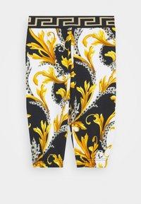 Versace - BOTTOM FELPA - Trousers - bianco/nero/oro - 0