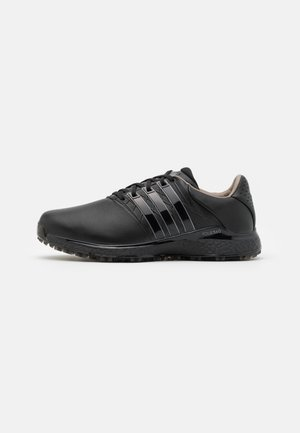 TOUR360 BOOST SPORTS GOLF SNEAKERS SHOES - Obuwie do golfa - core black/iron metallic