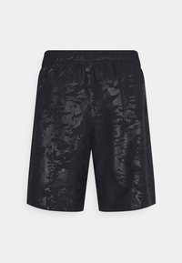 Under Armour - EMBOSS SHORTS - Korte sportsbukser - black - 1
