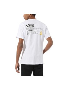 Vans - 66 SUPPLY - Print T-shirt - white - 1