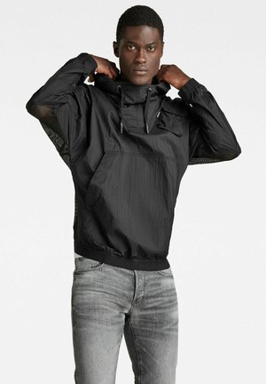 ANORAK RIPSTOP SHELL - Giacca outdoor - dk black