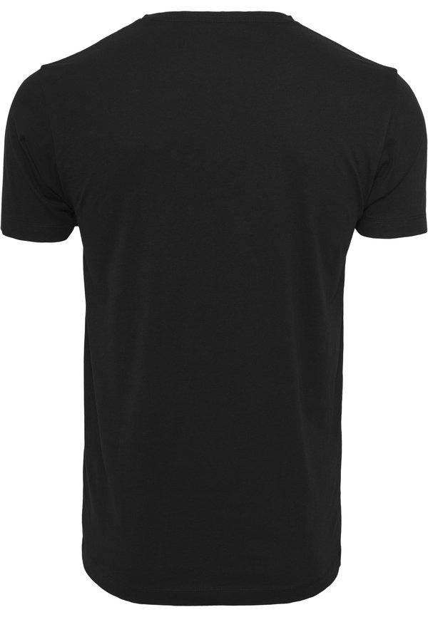 Mister Tee T-shirt z nadrukiem - black/czarny Odzież Męska HLTH