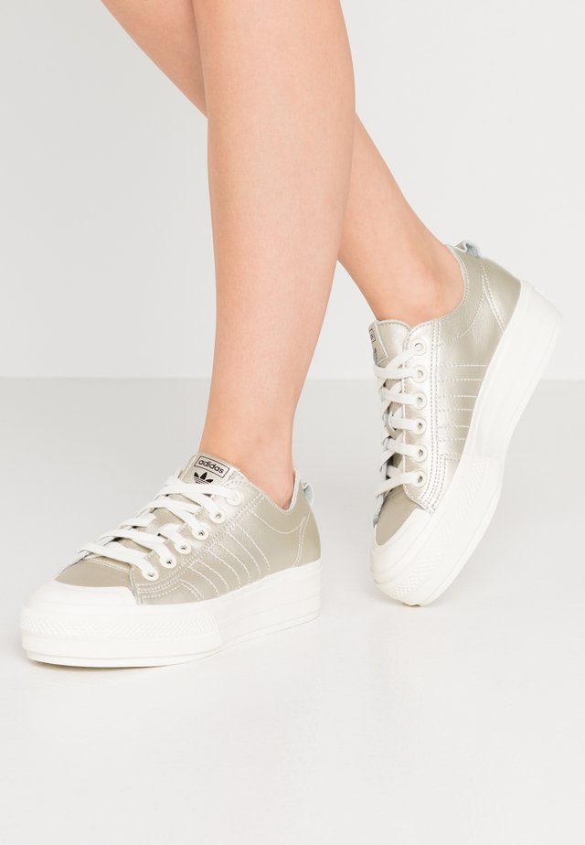 NIZZA PLATFORM  - Baskets basses - offwhite/core black