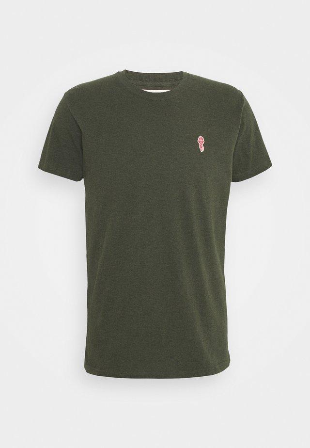 REGULAR - T-shirts - army melange
