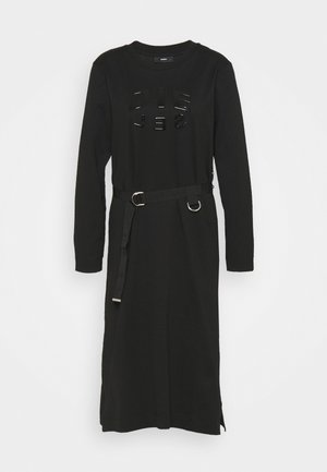 D-FONTY - Jersey dress - black