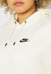 Nike Sportswear - HOODIE PLUS - Sweat à capuche - coconut milk/black - 5