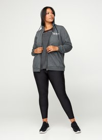Active by Zizzi - Felpa aperta - dark grey - 1