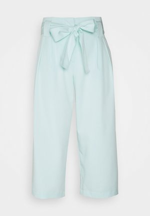 YASLEO CULOTTE PANT - Trousers - whispy blue
