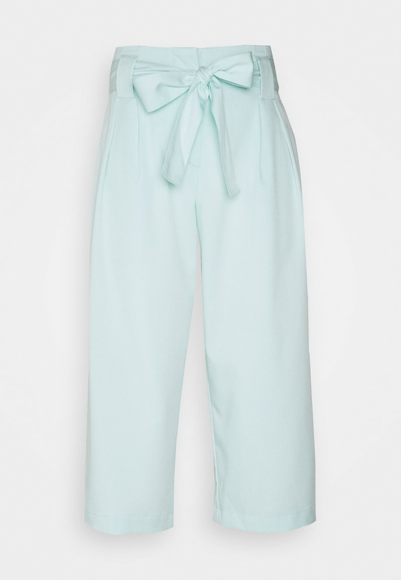 YAS Petite - YASLEO CULOTTE PANT - Trousers - whispy blue