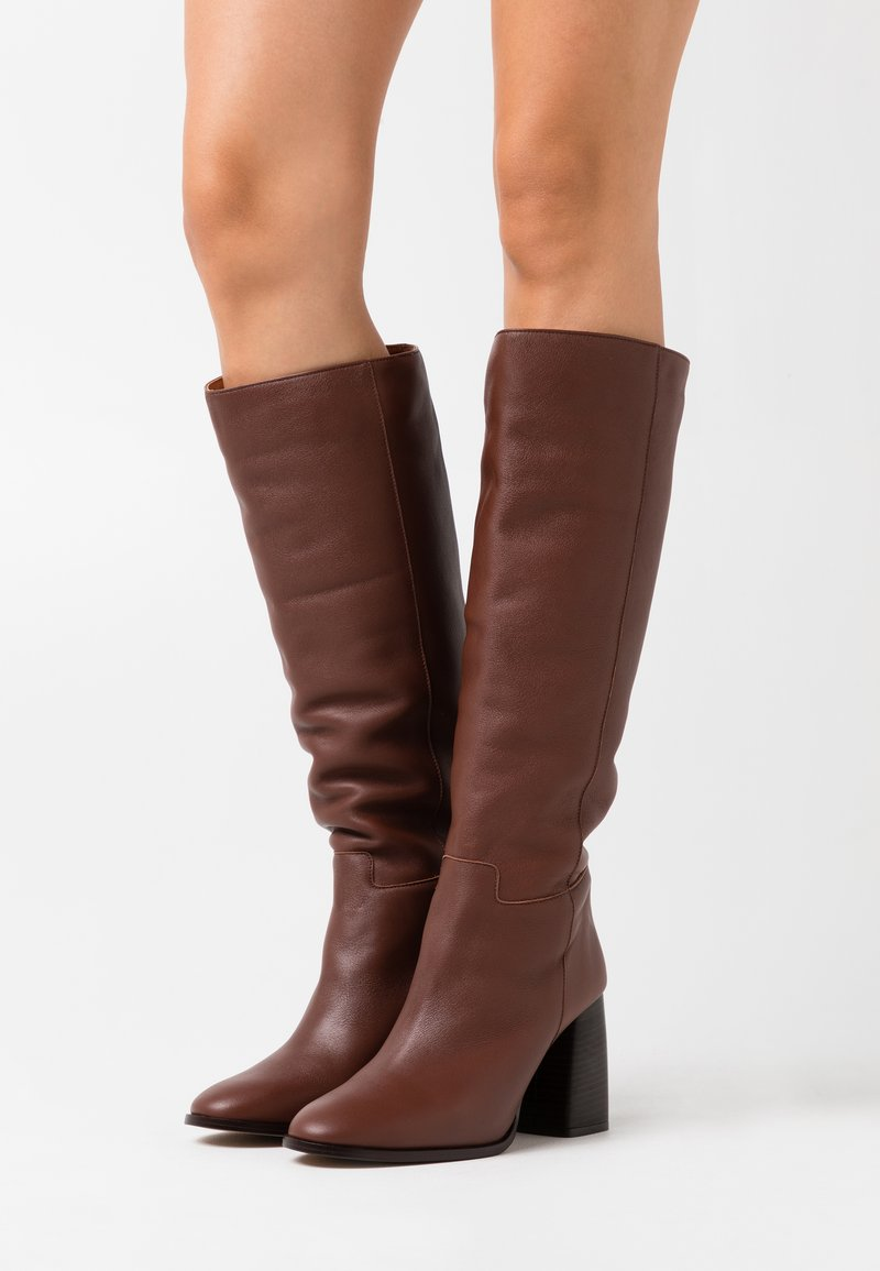 LAB BY AG - Boots - dark brown