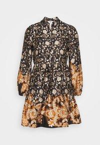 OBJKARIN DEIRDRE DRESS - Day dress - brown