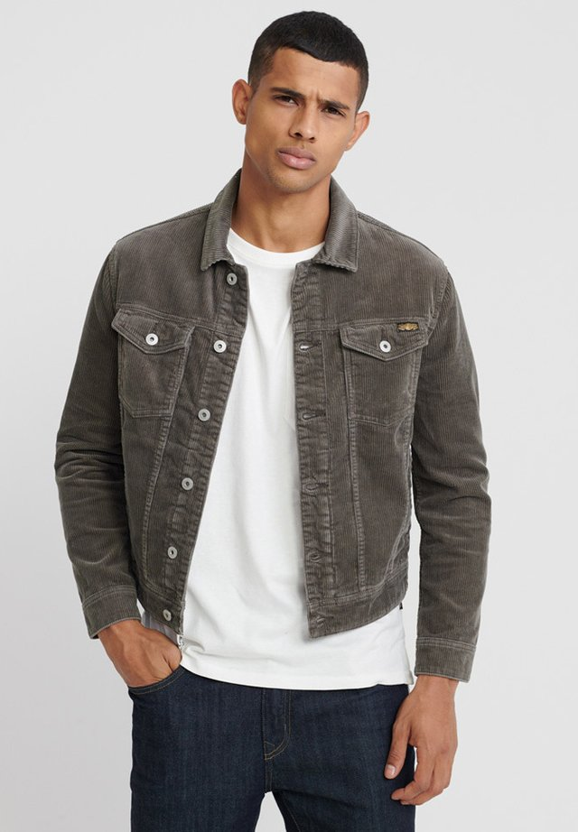 Summer jacket - smokey grey