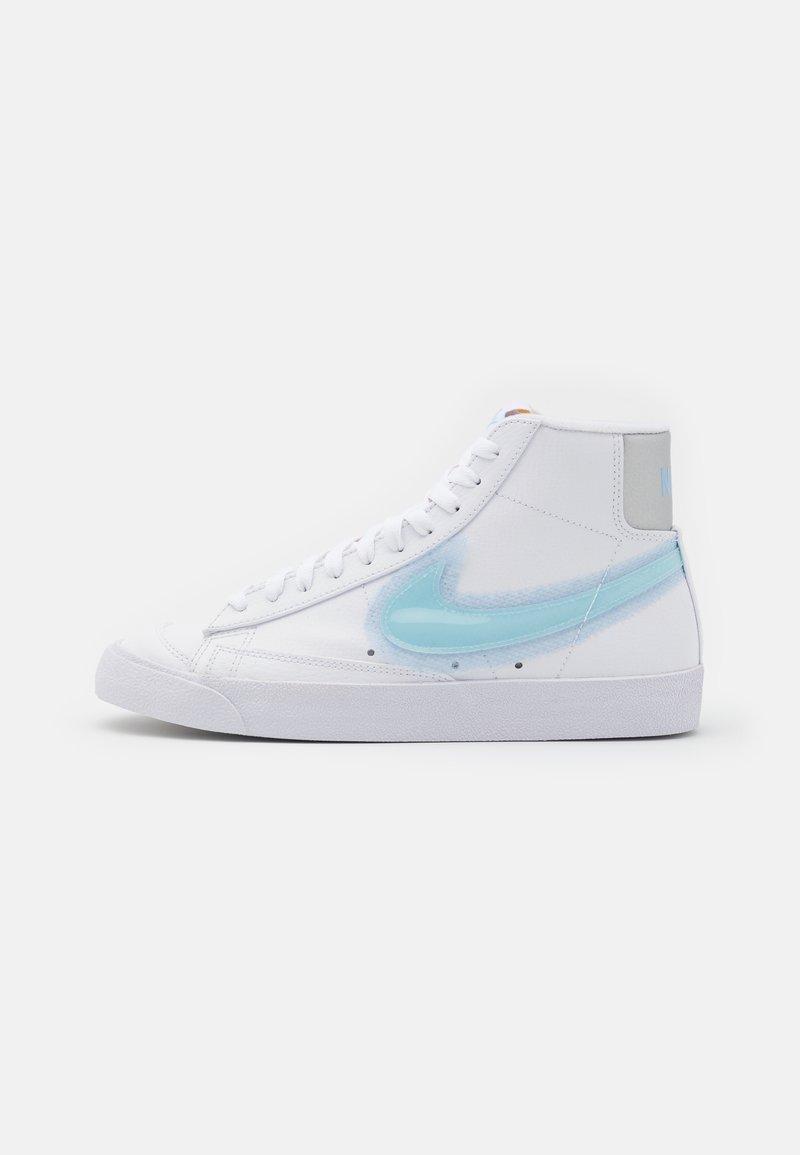 Nike Sportswear - BLAZER MID '77 - Zapatillas altas - white/glacier blue/metallic platinum