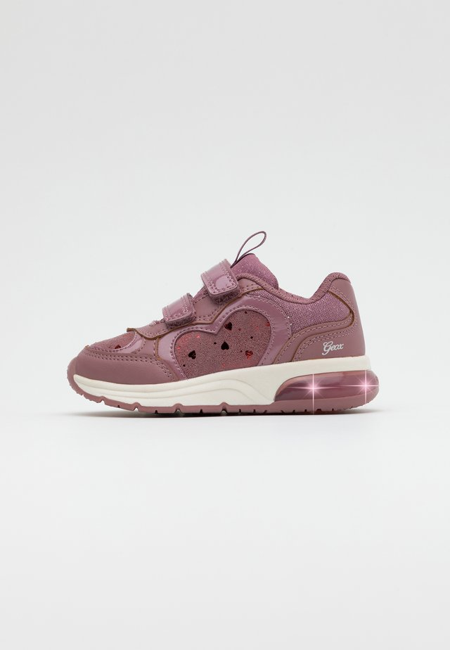 SPACECLUB GIRL - Sneakers basse - dark rose
